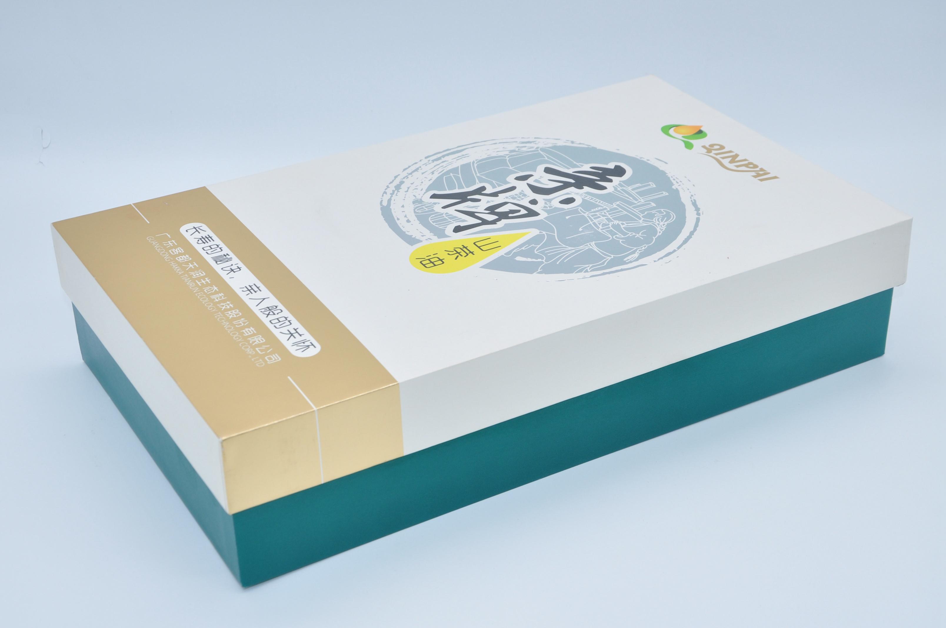 山茶油礼品盒包装