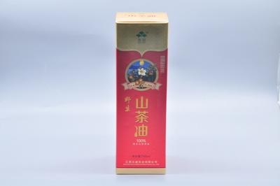 保健品山茶油彩盒定制